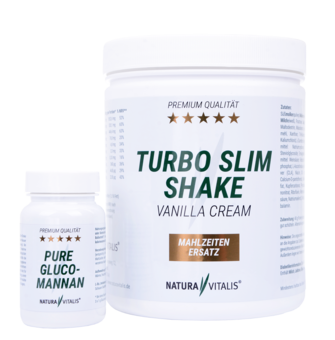 Turbo Slim Shake Vanilla Cream - 560 g