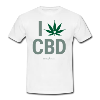 T-Shirt - 'I love CBD'